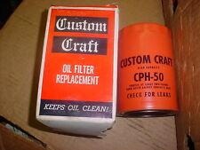 OIL FILTER FOR MASSEY FERGUSON ALLIS CHALMERS OLIVER CATERPILLAR ENGINE PART B50