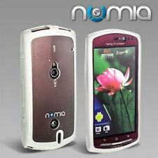 Numia Tpu Handy Case Cover Sony Ericsson Xperia Neo/Neo V Weiss Schutzhülle Etui