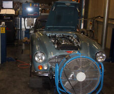 Classic Car Rolling road power run
