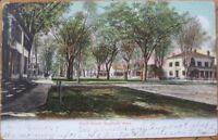 1907 Postcard: Court Street-Westfield, Massachusetts MA