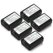 5x Battery For Sony A7 A7R Alpha A6000 A3000 A5000 A6300 NP-FW50 Camera
