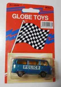Globe Toys Majorette casting Volkswagen VW Fourgon Bus MOC mint on card stunning
