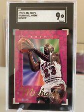 1995-96 NBA Hoops Michael Jordan Skyview #SV1 Insert SGC 9 MINT Low Pop Count