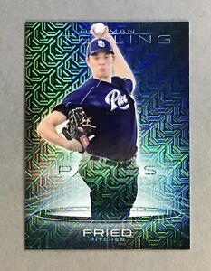 2013  Bowman Sterling   Max Fried   Japan Mojo Refractor RC /25      Braves