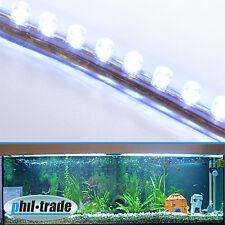 120cm 120 LED blanco barra de rayas barra de luz impermeable acuario luz de luna