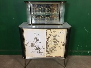 1950's Vintage Cocktail Drinks Cabinet Bar Retro. Courier Available