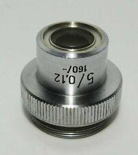 PZO Achromat objective 5x 0,12 microscope BIOLAR / Zeiss