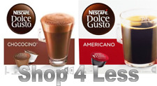 Nescafe Dolce Gusto: 2 Boxes Americano and Chococino coffee pods