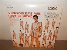 * Elvis Presley . Gold Records Vol.2 . 50,000,000 Fans . Canadian Tan Label . LP
