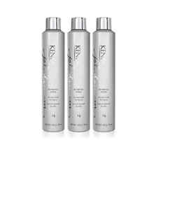 Kenra Platinum Working Spray Flexible Hold Hairspray 10 oz Pack of 3