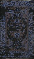 5'x8' Geometric Oriental Modern Abstract Area Rug Wool/ Silk Hand-knotted Carpet