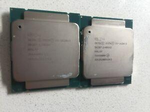 2X Intel Xeon E5-2620V3 2.40GHz 15MB Hex Core CPU Processor SR207
