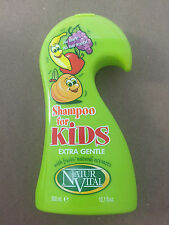 NATUR VITAL SHAMPOO FOR KIDS 300 ML EXTRA GENTLE NO TEARS-NO HAIR KNOTS