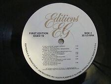 """FIRST EDITION"" 1982 EG RECORDS COMP BRIAN ENO MANZANERA KING CRIMSON"