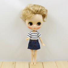 "8"" Neo Middle Blythe Doll Joint Body Nude Doll from Factory JSW90001+Gift"