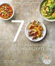 Die 70 einfachsten Gesund-Rezepte von Anne Fleck; Su Vössing (Buch) NEU