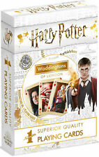 Harry Potter Waddingtons of London Playing Cards Kids/Family/Adults Games Play