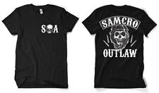 Licensed Sons of Anarchy - SAMCRO Outlaw BIG & TALL 3XL, 4XL, 5XL Men's T-Shirt
