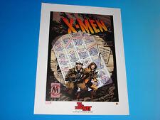X-Men Days Of Future Past Lithograph John Byrne Austin Chung Marvel Comics