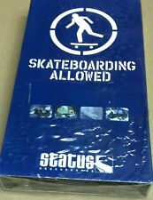 Retro early 2000's Status team riders skateboard Vhs video cassettes