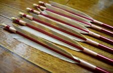 """Easton ACC ACE Arrow /""""G/"""" Nocks Package of 12 Rose//Red Small Grove Lot"""