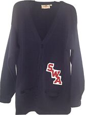 1980's Southwest Airlines Wool Letterman's Crew Sweater.
