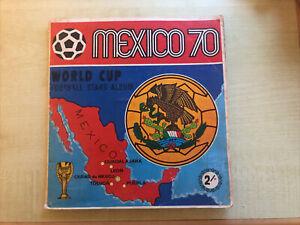 Panini Mexico 70 album, UK Version