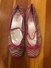 0b322fed82ce Kenneth Cole Reaction Glitz And Bow Flats New Size 6 Pink Colorful
