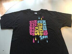 Eisenbergs SKATE, BIKE, SCOOTER Summer Camp 2008 STAFF Shirt! 2X LARGE, USED