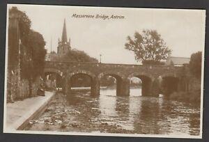 Postcard Antrim in County Antrim Northern Ireland the Massereene Bridge RP