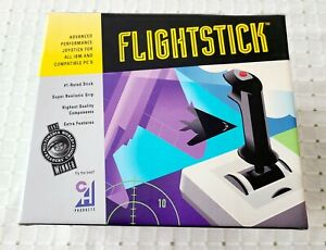 Vintage Flight Stick Retro PC Controller Vintage Gaming New Old Stock