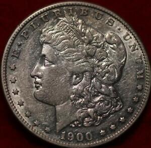 1900-S San Francisco Mint Silver Morgan Dollar
