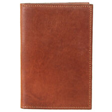 Leather Pocket Journal Refillable Ruled Composition Notebook Brown USA Made No23