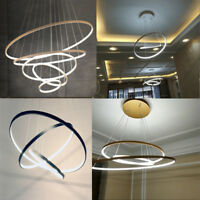 Modern LED Acrylic Ceiling Light Galaxy Chandelier Living Room Pendant Lamp