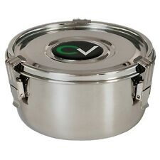 Large cVault C Vault Storage Container Stainless Steel Boveda Humidifier New