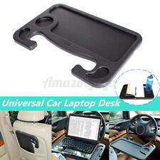 Car Laptop Steering Mount Stand Tray Desk Holder Car Food Eating Table Black