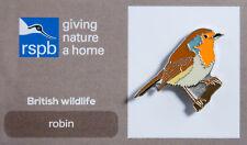 RSPB Pin Badge | Robin | GNaH [00492]