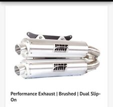 HMF Polaris RZR XP 1000 Turbo 2016-2017 Performance Series Dual Exhaust