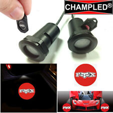 CHAMPLED FOX LED Projector Logo Shadow Car 2 Lights Emblem Replacement Film