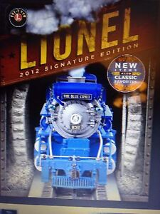 Lionel 2012 Signature Edition Catalog in stock dealer pack