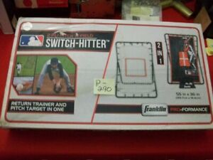 """FRANKLIN PRO-FORMANCE 2-IN-1 PITCH 'N FIELD """"SWITCH HITTER"""" PITCHING & FIELDING"""