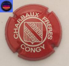 Capsule de Champagne CHARBAUX Frères Rouge et Blanc n°7 Cote 110 !!!