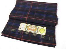 "Indigo Silk ""HONBA OHSHIMA-TSUMUGI Kimono & Haori"" Ensemble Fabric Bolt N437"
