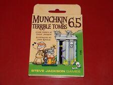Munchkin 6.5: Terrible Tombs - Steve Jackson Games - Brand New & Unopened