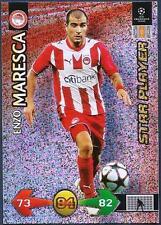 PANINI UEFA CHAMPIONS LEAGUE 2009-10 TRADING CARD-OLYMPIACOS-ENZO MARESCA-FOIL