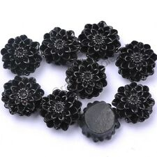 Wholesale 20pcs Gorgeous Flower Resin Spacer Beads, Color Choose 13 mm