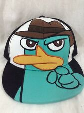 Perry The Platypus Hat Phineas And Ferb Adjustable Disney SnapBack Agent P Cap
