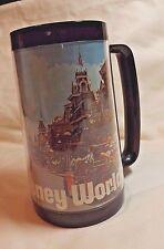 VINTAGE WALT DISNEY WORLD THERMO-SERV PLASTIC COFFEE TEA MUG CUP - 15 FL. OZ.
