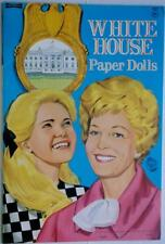 """New listing 1969 """"White House"""" Paper Doll Book by Saalfield 8.25 x 12.25 inch Lot 213"""