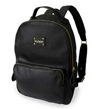 Fashion Backpack for Women Lady School Faux Leather Diaper Laptop Black